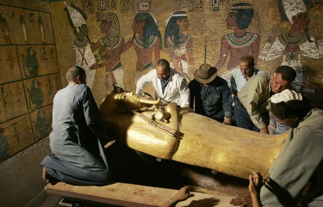 Two hidden chambers have been discovered in the tomb of King