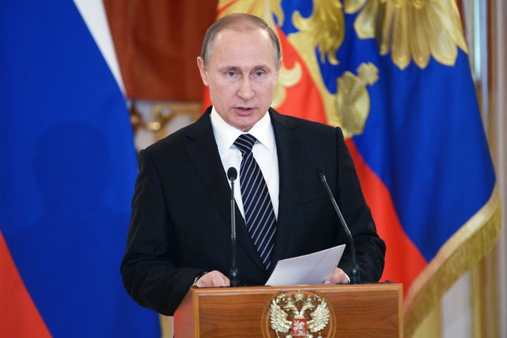 Russian Vladimir Putin said while he had ordered a partial draw down of forces from Syria, the Kremlin could scale up it