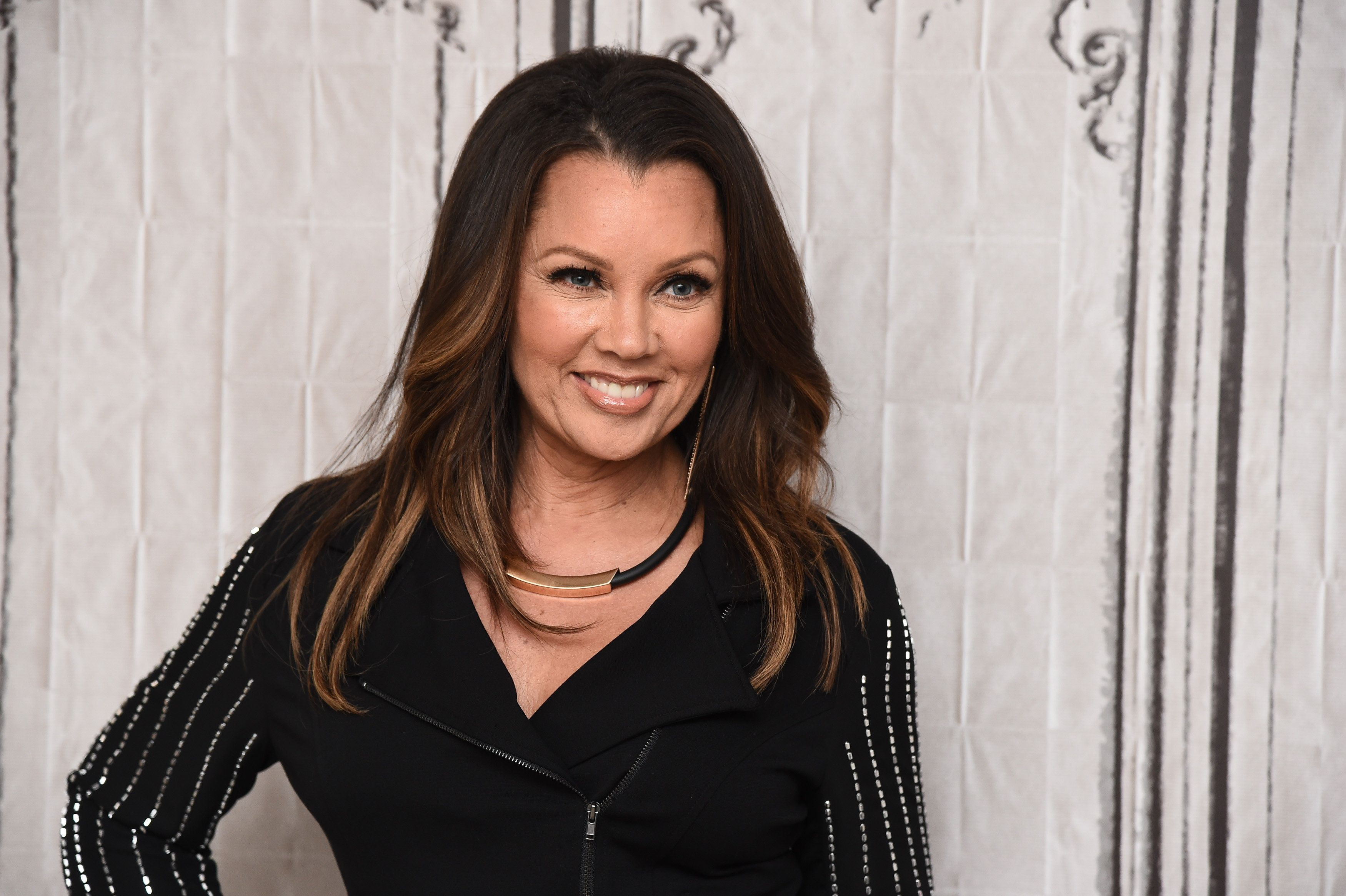 NEW YORK, NY - MARCH 14:  Vanessa Williams attends the AOL Build Speaker Series to discuss her exclusive fashion collection on EVINE Live, 'V' at AOL Studios In New York on March 14, 2016 in New York City.  (Photo by Dave Kotinsky/Getty Images)