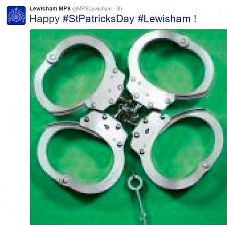 Lewisham Police Apologise For 'Offensive' St Patrick's Day