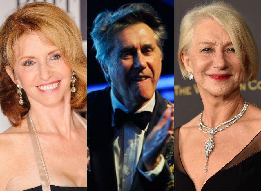 Jane Asher, Bryan Ferry and Helen Mirren all proving 70 is the new going