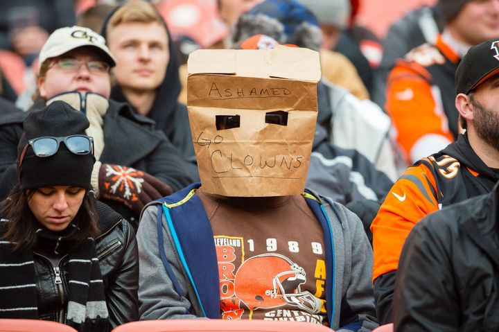 Another sad Cleveland Browns fan illustrates his shame.