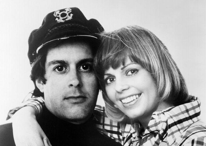Captain and Tennille, circa 1970.