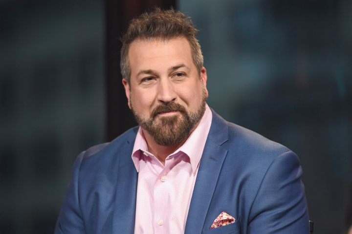 "Fatone stars as Angelo in ""My Big Fat Greek Wedding 2,"" out March 25."