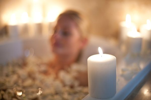 The spring equinox is a great opportunity to take a bath or jump in some healing water to cleanse the body and spirit, Lovekr