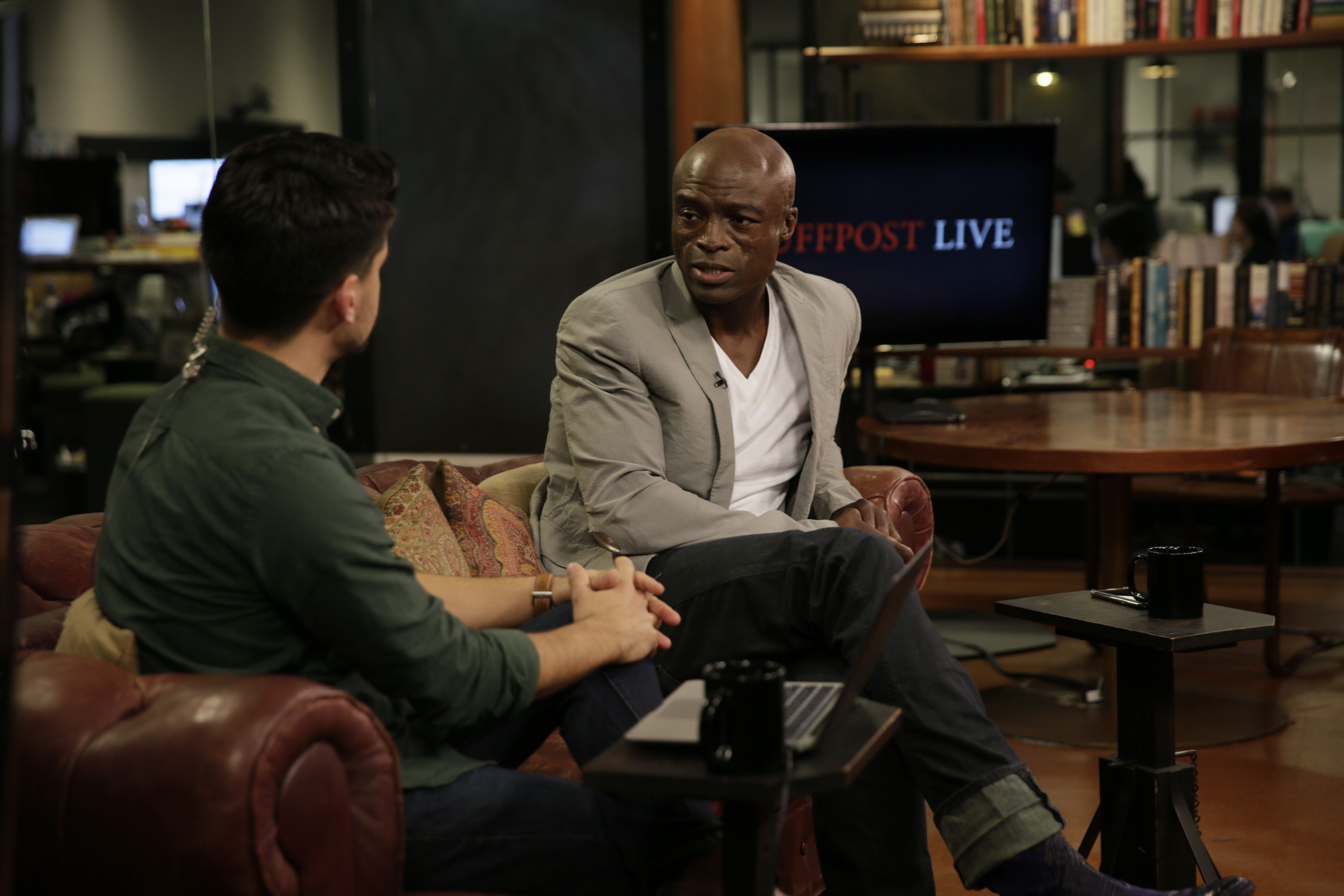 Seal spoke with HuffPost Live about the influence David Bowie had on his career.