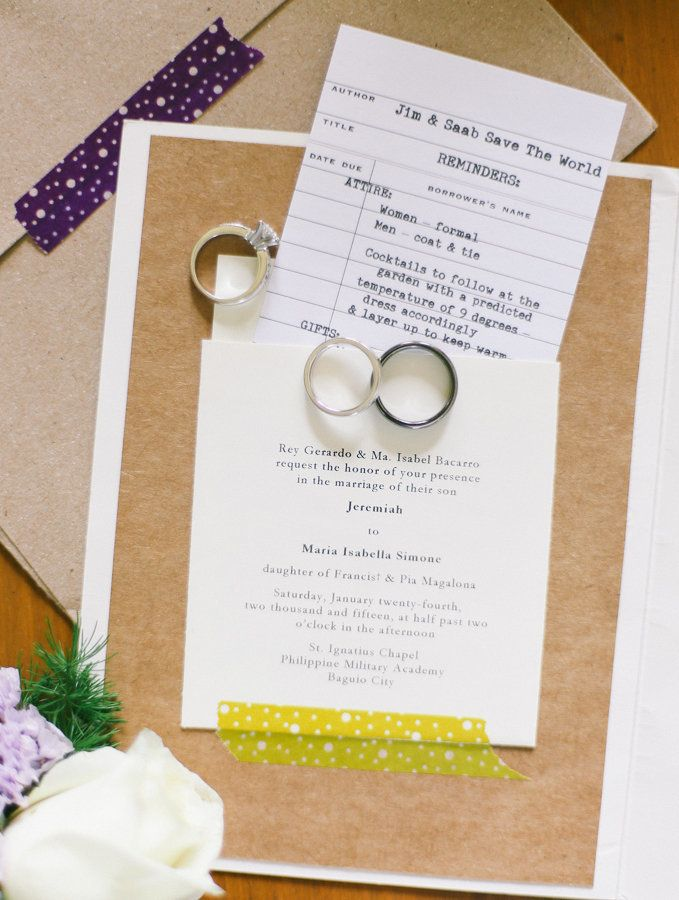 13 Out Of The Box Wedding Invitation Ideas For Fun Loving Couples
