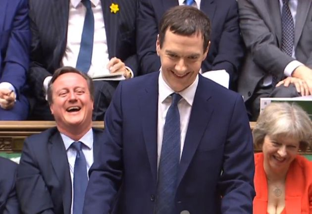 George Osborne delivers his Budget statement to the