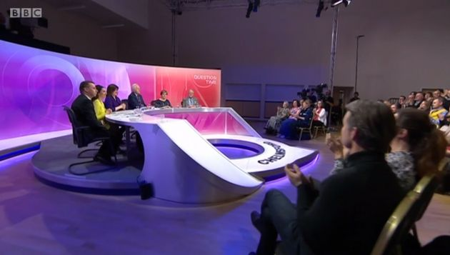 BBC Question Time broadcast from Chelmsford,
