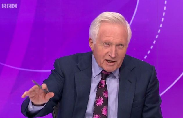 David Dimbleby was slammed by BBC Question Time viewers of 'silencing' SNP MP Tasmina