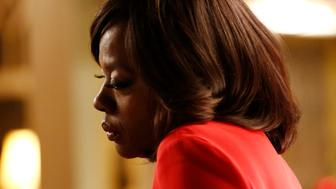 HOW TO GET AWAY WITH MURDER - 'Anna Mae' - With chaos surrounding Annalise, she just can't stand the pressure anymore and needs to escape.  Meanwhile, Frank must come to terms with the things he has done while Wes continues to get closer to finding out about his past, on the season finale of 'How to Get Away with Murder,' THURSDAY, MARCH 17 (10:00-11:00 p.m. EDT) on the ABC Television Network.(Photo by Mitch Haaseth/ABC via Getty Images) VIOLA DAVIS