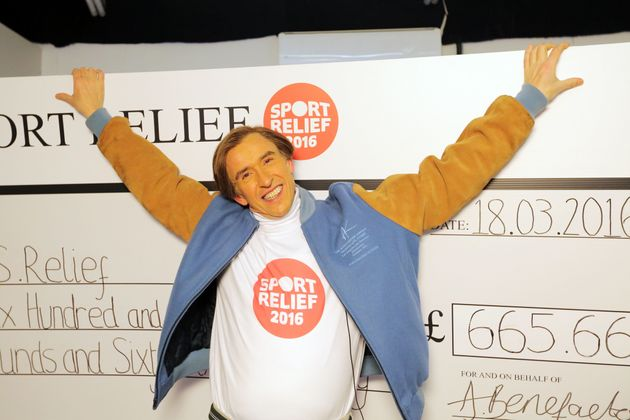 Steve Coogan's Alan Partridge character is getting in on the 'Sport Relief'