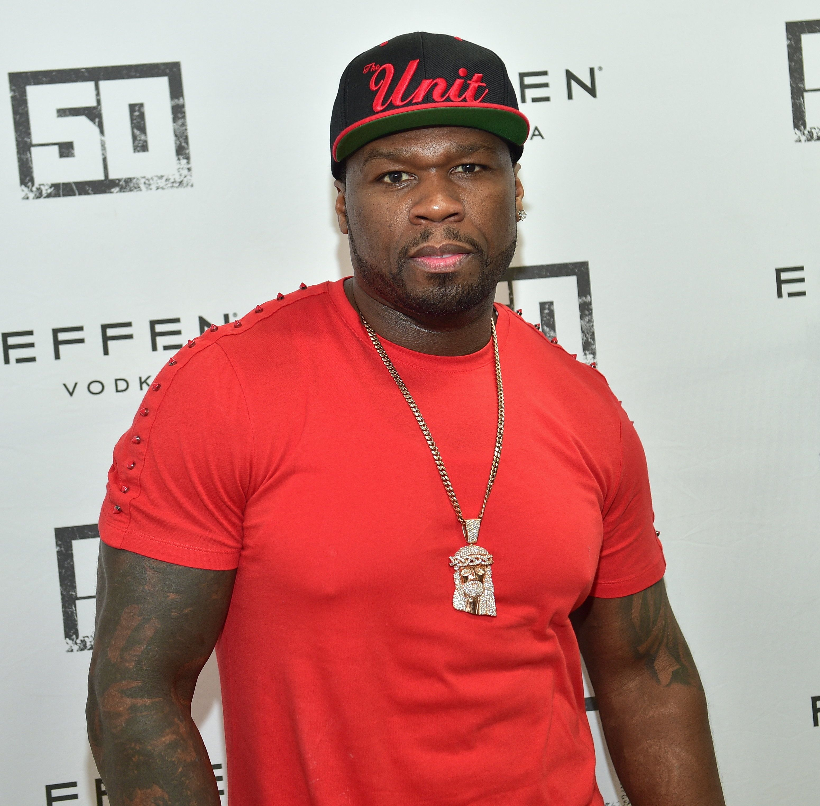 ATLANTA, GA - FEBRUARY 20:  50 Cent attends an Effen Vodka appearance at Kilroy's Package Store on February 20, 2016 in Atlanta, Georgia.  (Photo by Prince Williams/WireImage)