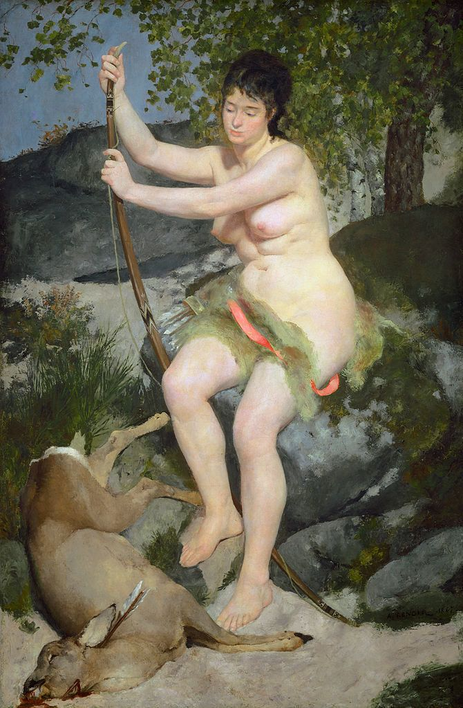 "<a href=""https://commons.wikimedia.org/wiki/File:Pierre-Auguste_Renoir_020.jpg"" target=""_blank"">Renoir, ""Diana the Huntress,"""