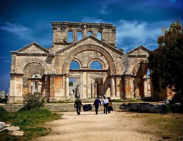 "<strong>Before</strong>: According to <a href=""http://www.atlasobscura.com/places/church-saint-simeon-stylite"">tradition</a>,"