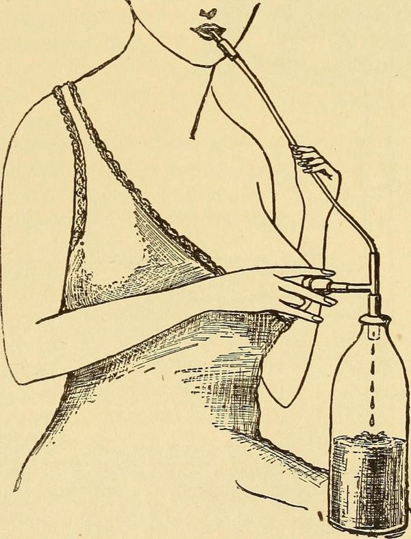 """Image from """"Dr. Evans' How to keep well,"""" 1917."""