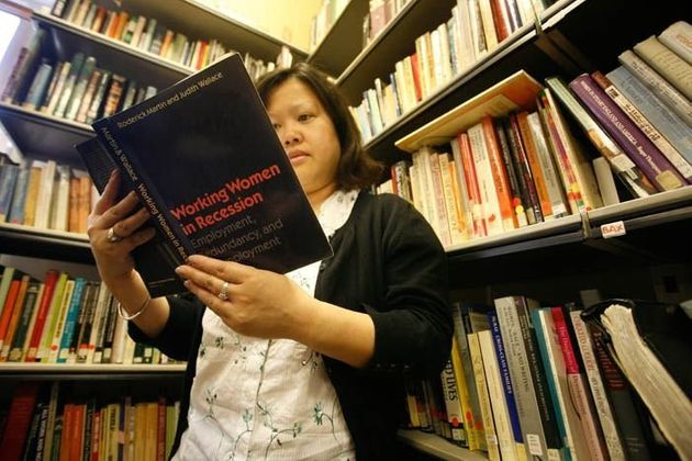 The Feminist Library holds more than7,000 books and 1,500 periodical