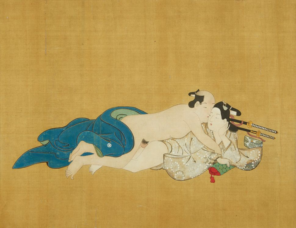 Feast Your Eyes On These Rare 17th-Century Handscrolls Of Japanese Gay  Erotica