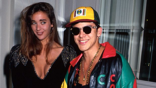 Singer Gerardo and date.  (Photo by Time Life Pictures/DMI/The LIFE Picture Collection/Getty Images)