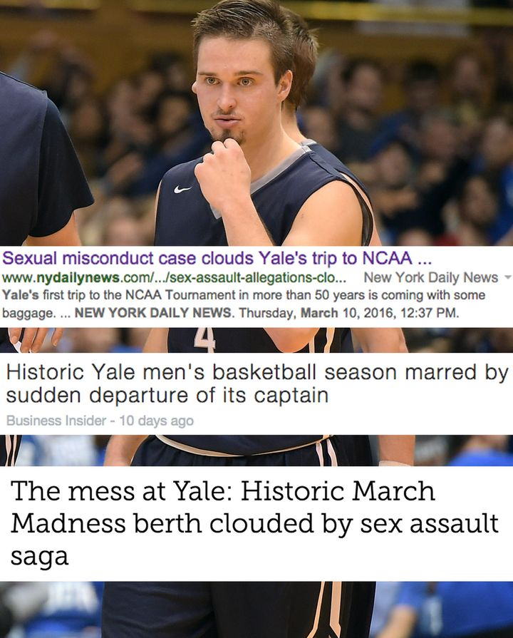 Yale men's basketball captain Jack Montague was expelled from the university on Feb. 10th, 2016, after allegedly sexually ass