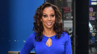 NEW YORK, NY - MARCH 16:  Actress Holly Robinson Peete is seen outside Good Morning America' on March 16, 2016 in New York City.  (Photo by Raymond Hall/GC Images)