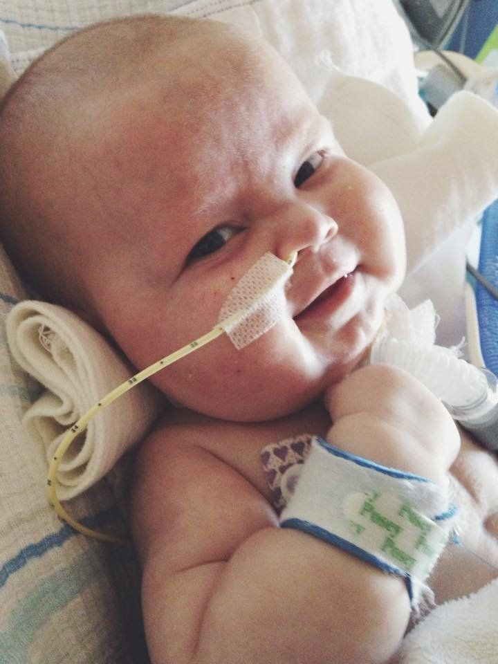 At birth, Charlie was diagnosed with rare congenital heart defect called total anomalous pulmonary venous return.