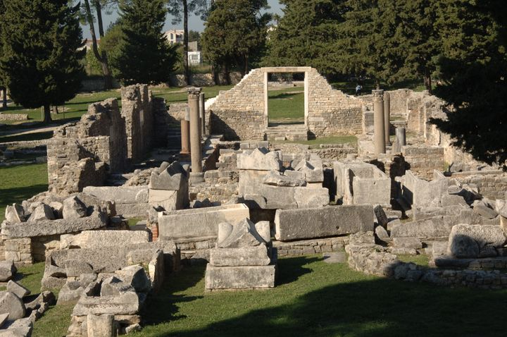 Ancient remains ofSalona.