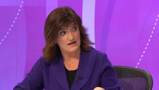 Nicky Morgan Refuses To Answer Question On £4bn Disability Cuts, Flounces From Interview