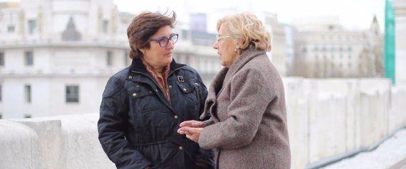Carmena speaks with HuffPost Spain's Editorial Director Montserrat