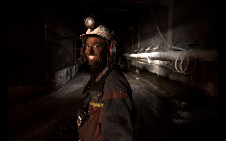 Joachim Myhrvang, a coal miner working in the administrative center of Svalbard, Norway, shares details about his daily