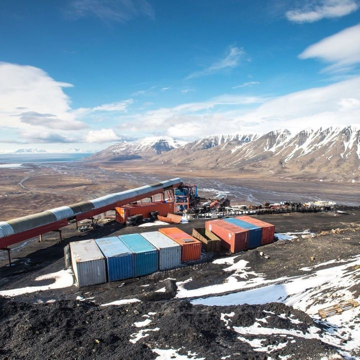 Mine 7, where Myhrvang works, has been in production since 1975 and produces about 70,000 tons of coal every year, according