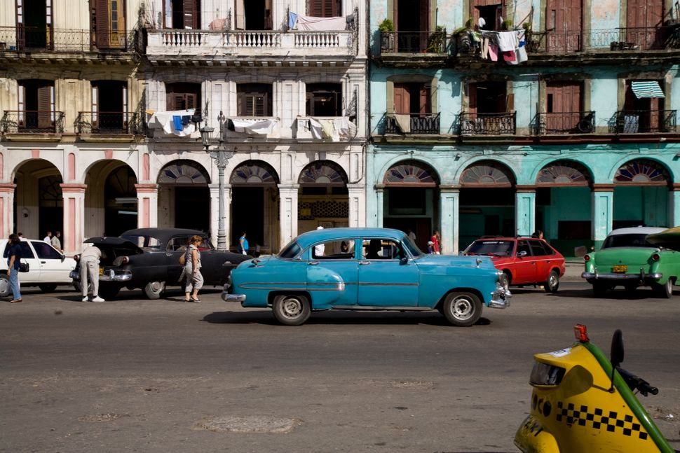 The end of U.S.-Cuban diplomatic relations brings trade embargoes that prohibit the two countries from importing and exportin
