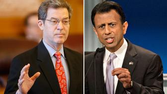 Sam Brownback and Bobby Jindal