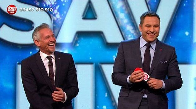 Gary Lineker Left Red-Faced After 'Sport Relief' Autocue Cock-Up Sees Him Reading Danny Dyer's
