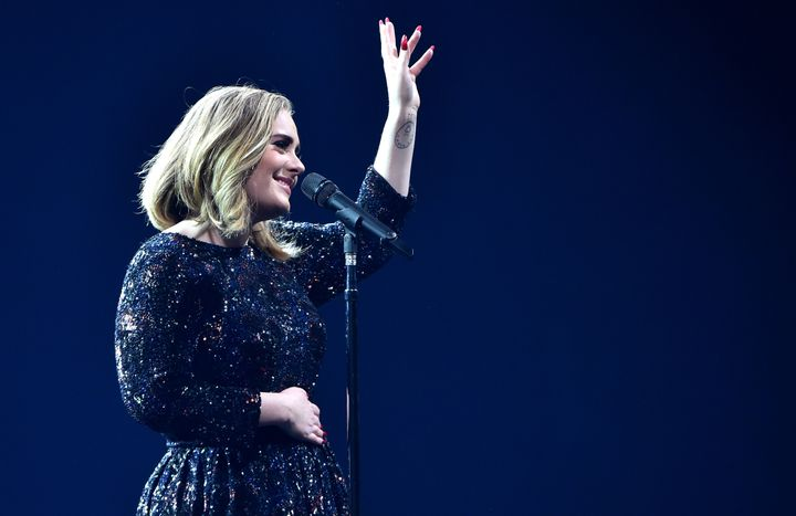 Adele told fans at a concert in London that she'd be headlining this year's Glastonbury Festival.