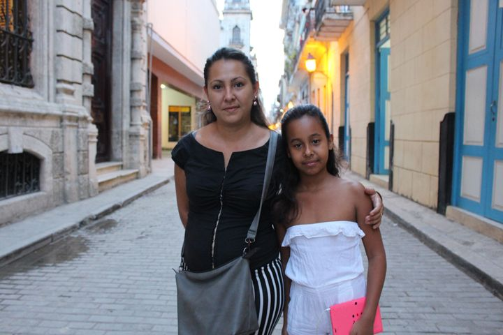 Yohandra Alonso hopes Obama's trip will boost the economy enough for her daughter to earn a better future, but she rema