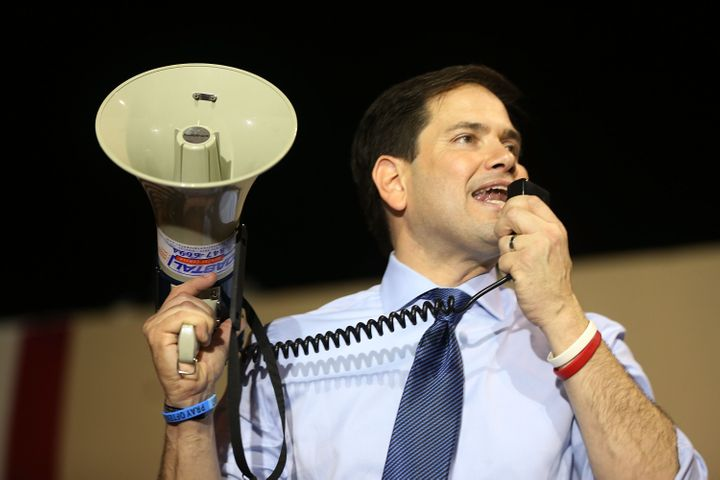 Florida Sen. Marco Rubio's presidential campaign was sustained thanks to seven-figure checks written by billionaires to a sup