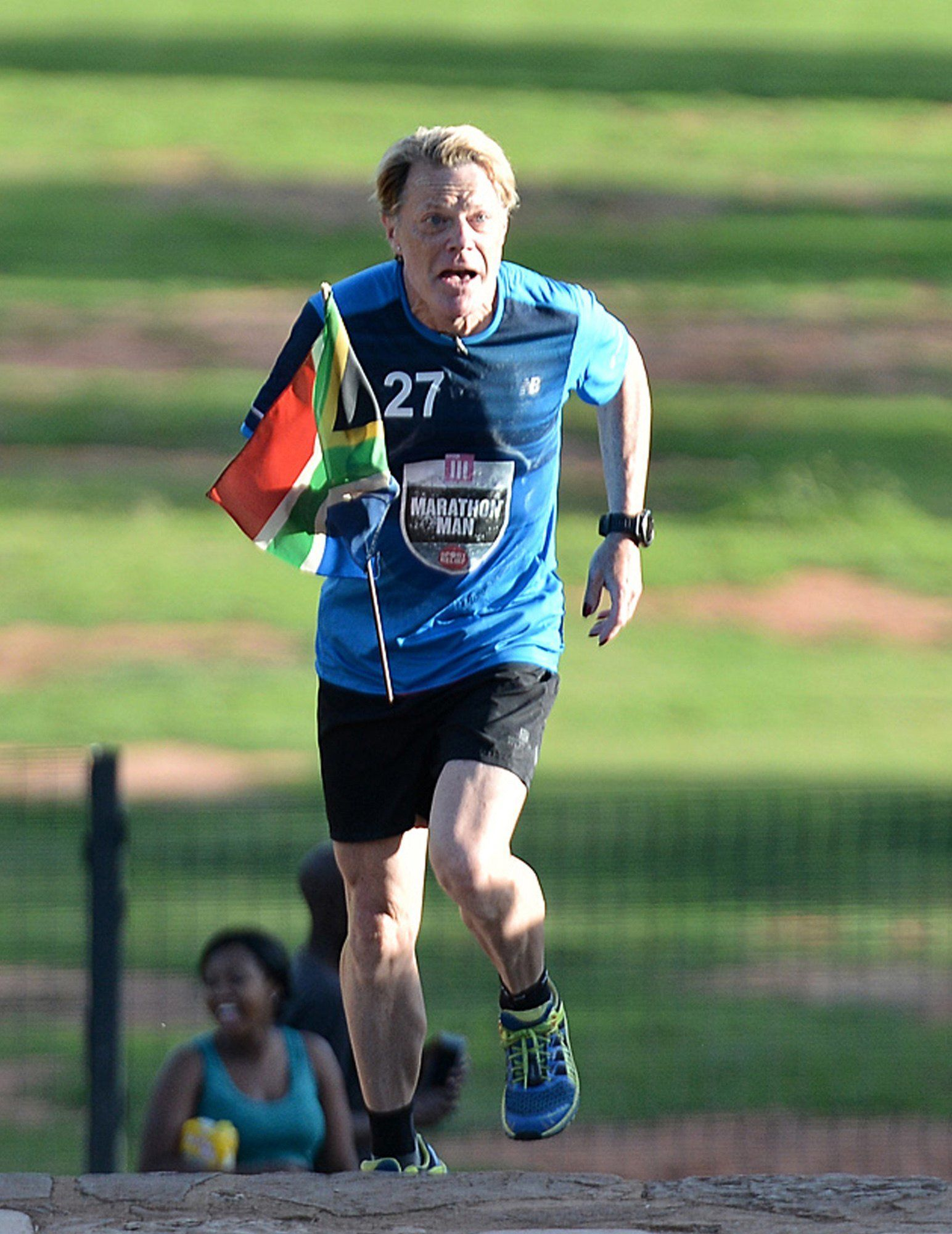 Eddie Izzard 'Delighted' After Completing 27 Marathons, Raising