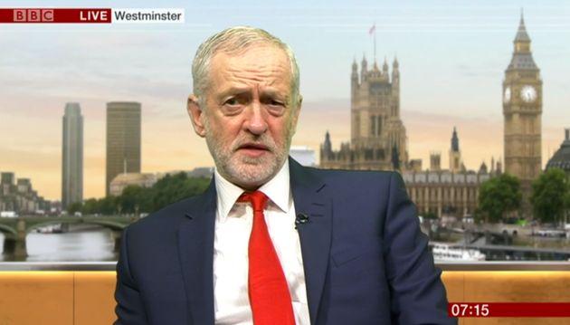 Jeremy Corbyn on BBC
