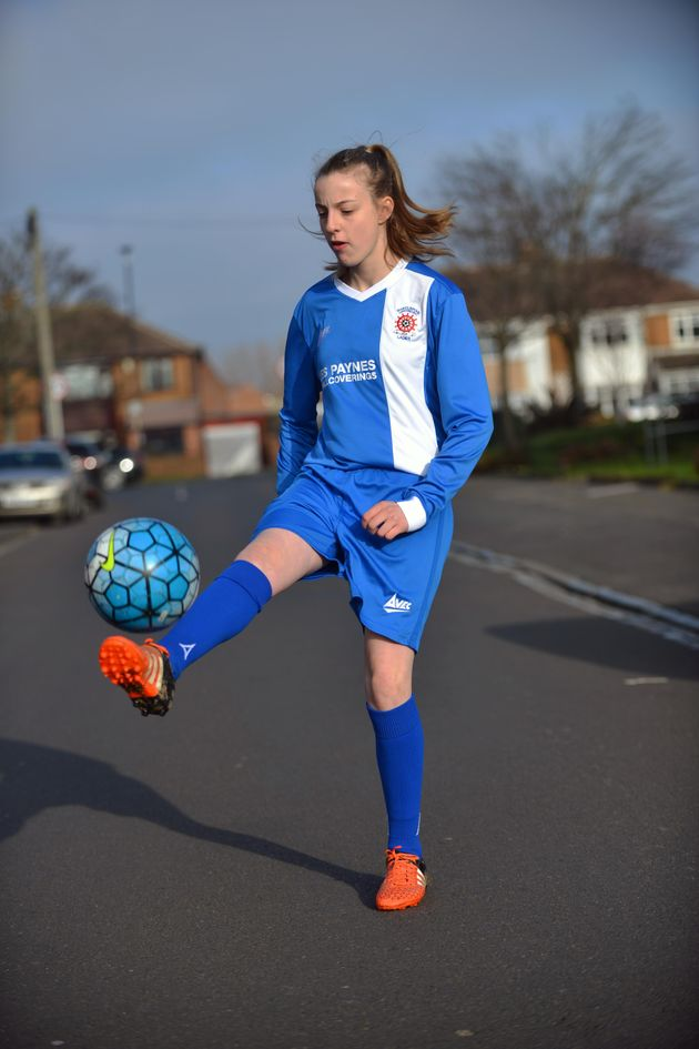 Newtonalso plays for Hartlepool United's Under-15s