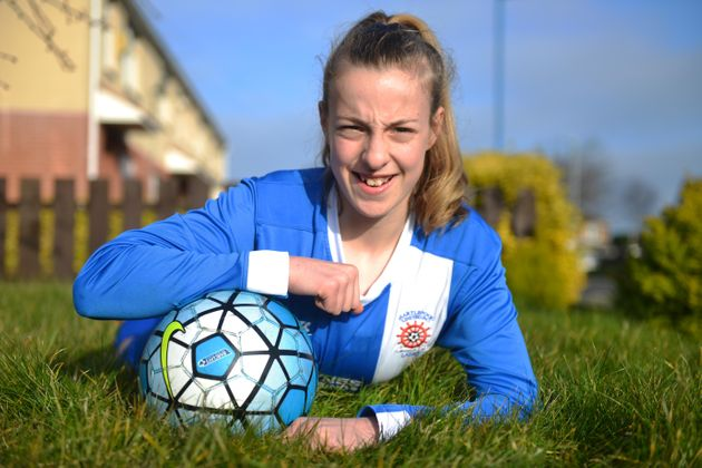 Teenage Footballer Makes History As The First Girl To Play In A Boys' County Cup