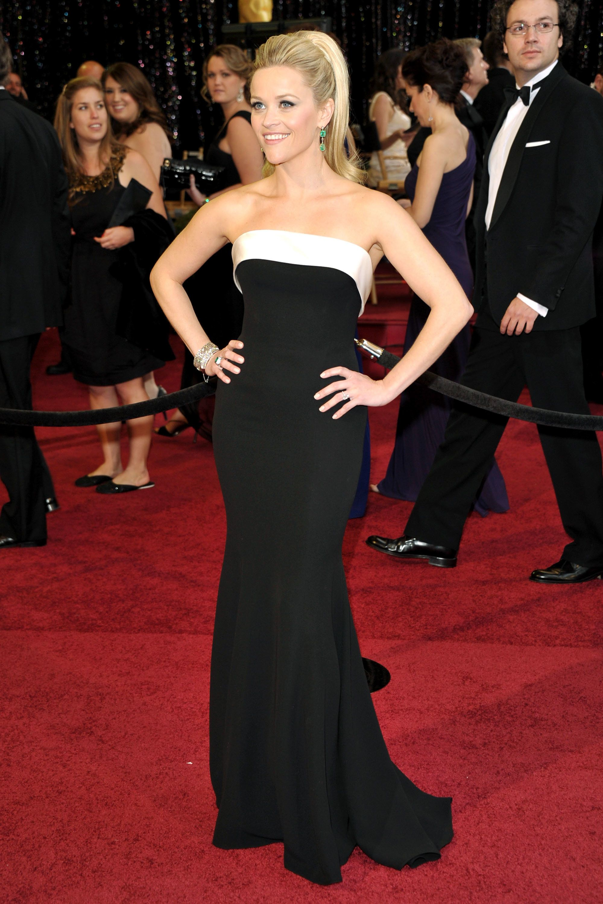 At the 2011 Oscars.