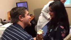 Man Proposes To Deaf Girlfriend Moments After She Hears For First