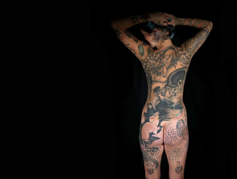 Naked Tattooed Females 13