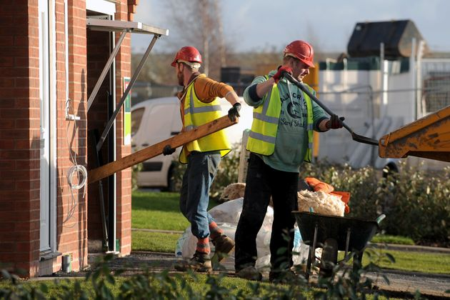 Many builders are among Britain's low-paid self-employed whom the new National Living Wage will not
