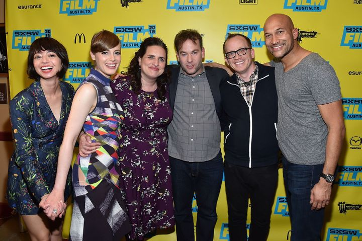 "The cast of ""Don't Think Twice"" attends the movie's South by Southwest premiere."