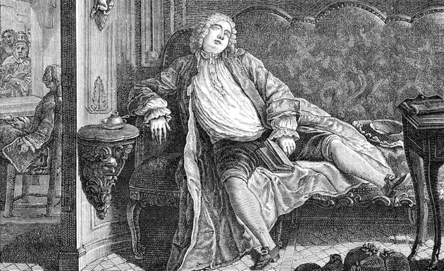 In the 18th century, people may have slept in two separate nightly intervals, rather than one eight-hour...