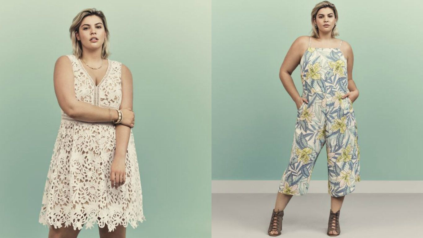 New Look Launches 'Curves' Collection In Sizes