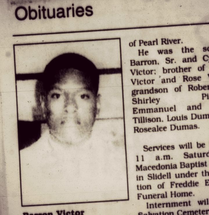 The obituary for Baron Victor Jr.