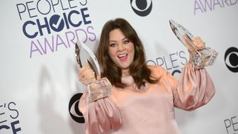 Melissa McCarthy attending the People's Choice Awards 2016 Press Room at Microsoft Theatre L.A. Live in Los Angeles, CA, USA on January 6, 2016.